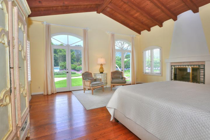 Master Suite looking out to Mnt View