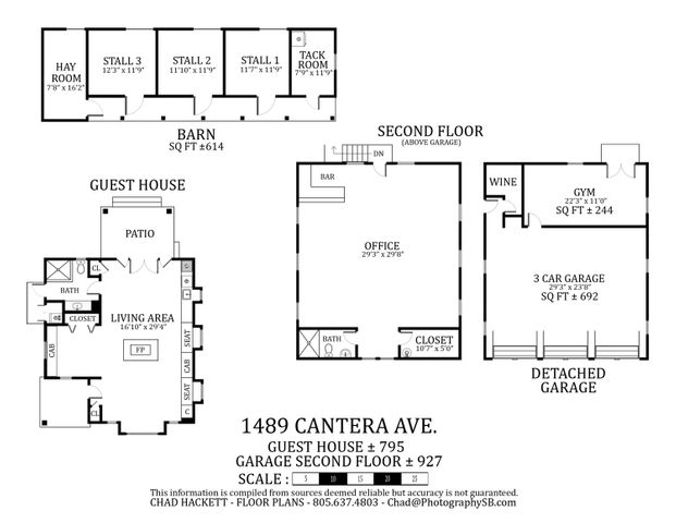 1489 Cantera Ave. FP_Detached Buildings