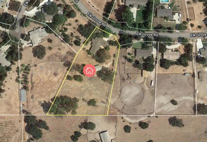Parcel Map 2544 Elk Grove
