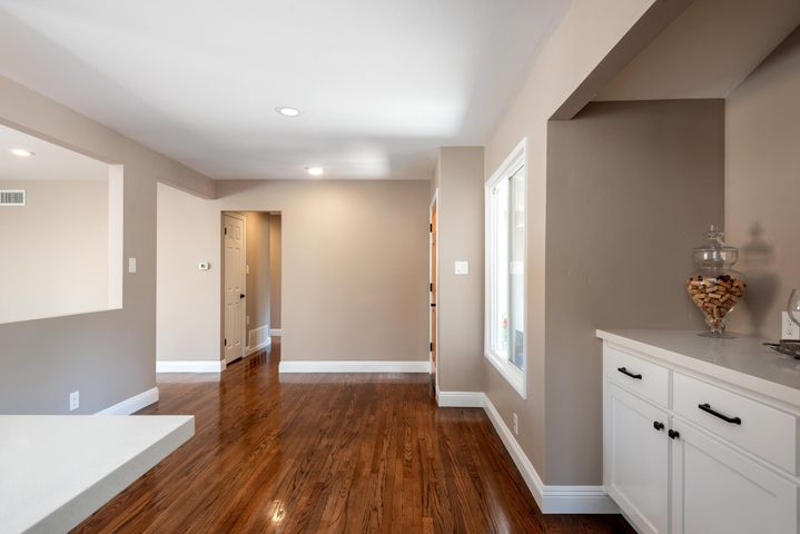 Entry with built-in