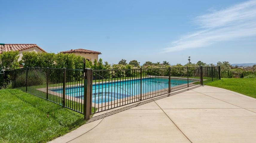 Gated Swimming Pool
