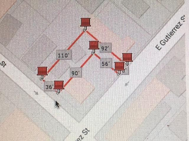 406Plot map