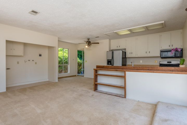 Laundry Area in Family Room