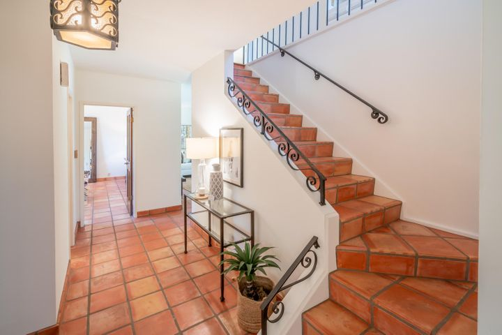 Tiled Stairs and Entry