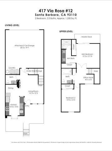 Floor plan Via Rosa2