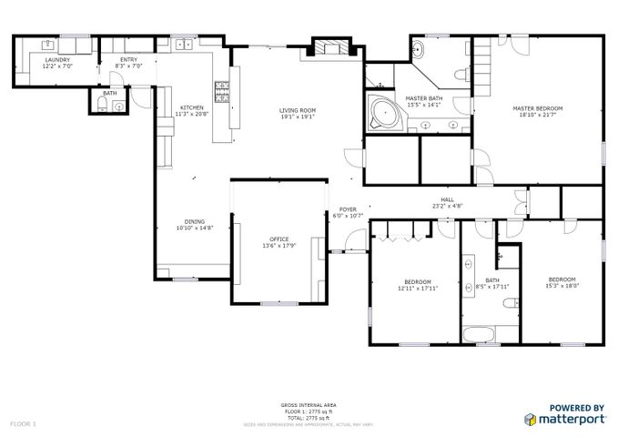 417 Andrew Floor Plan