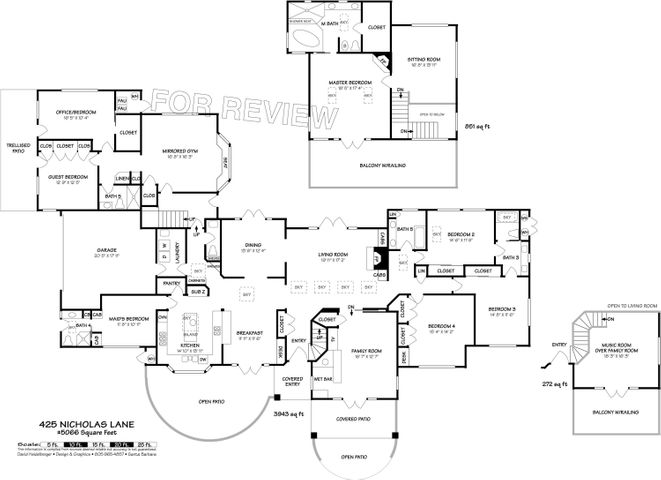 425 Nicholas Lane Floor Plan