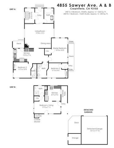 Sawyer Ave Floor Plan