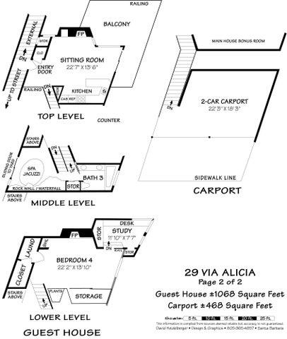 Floor Plan Guest Hse