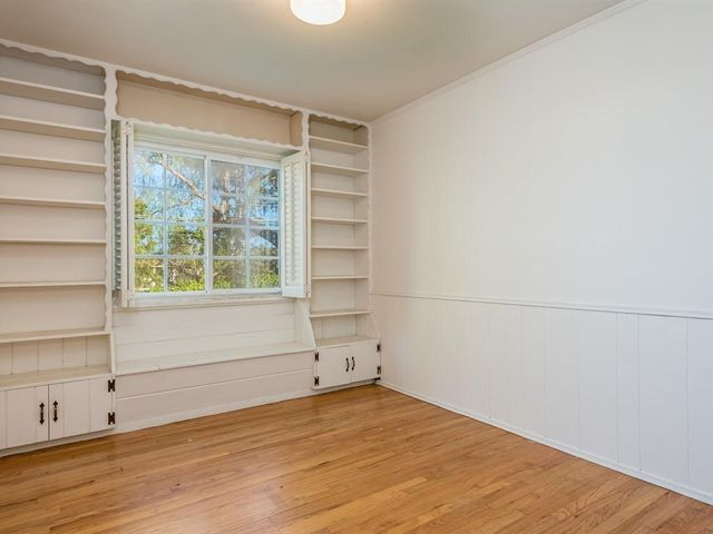 First Bedroom w/ Built-ins