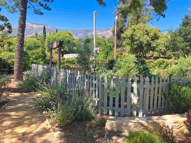 Fenced Organic Garden