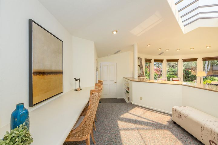 Raised Office area in Great Room