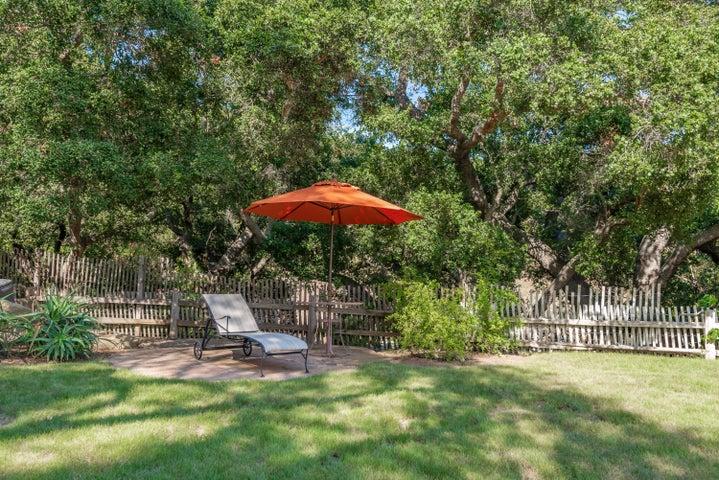 Oaks offer privacy