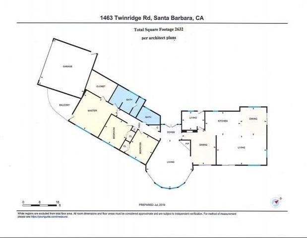 1463 Twinridge Floor Plan