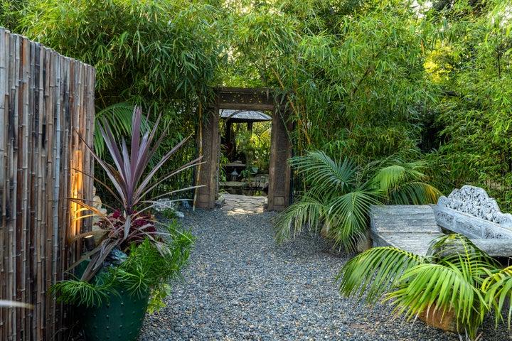 Meditation Garden Entrance