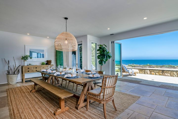 Dining Room Beach View