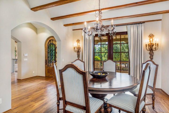 710 Romero Canyon Dining Room