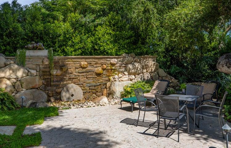710 Romero Canyon Custom Wall Fountain