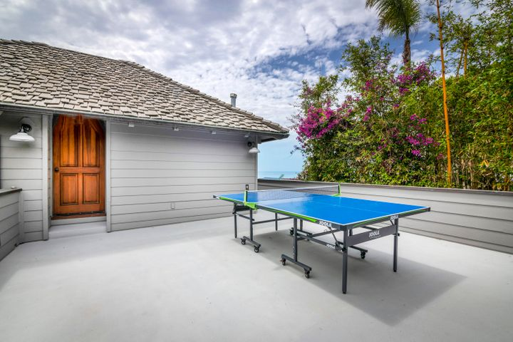 Upper Deck with Ping Pong Table