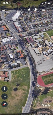 Maricopa side view Aerial