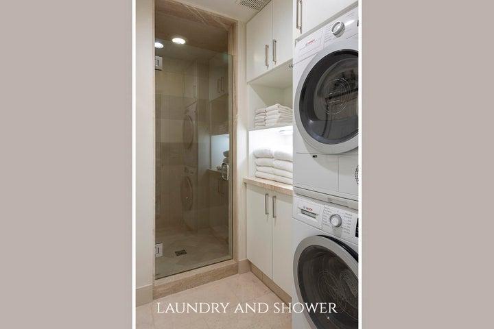 Laundry room/master shower