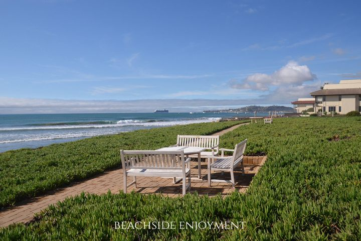 Montecito Shores beachside up coast