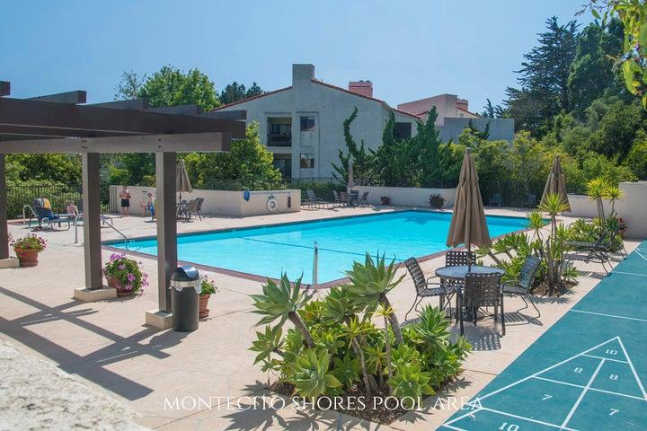 Montecito Shores pool area