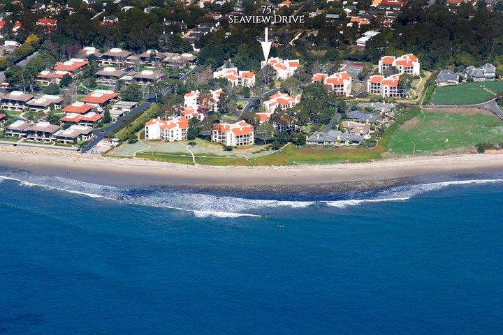 Aerial of Montecito Shores