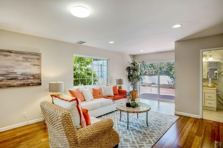 Living room-den-inlaw quarters