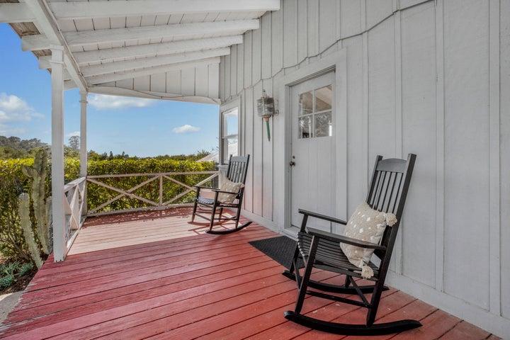 Guest Cottage Front Porch
