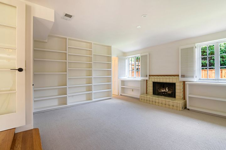 Bedroom 1 or Library