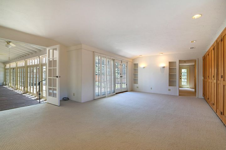 Master Bedroom and Back Patio