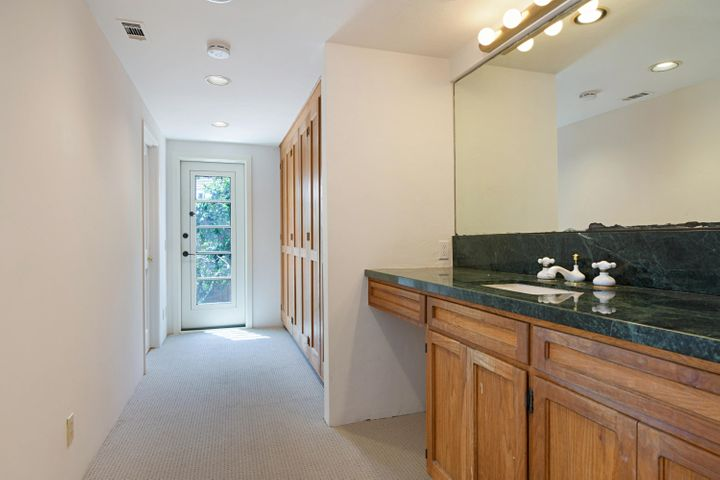 Master Bedroom Sink and Hallway