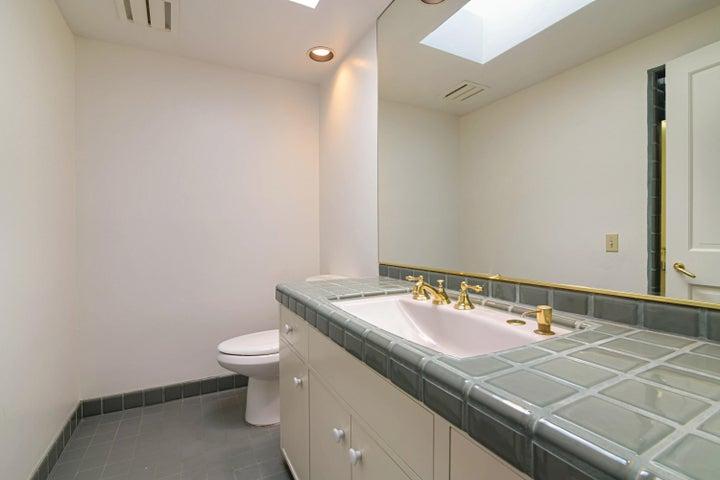 Master Bathroom Toilet/Sink
