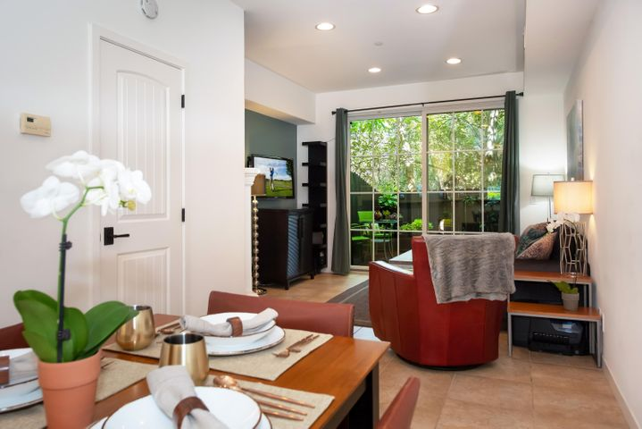 Private wooded views