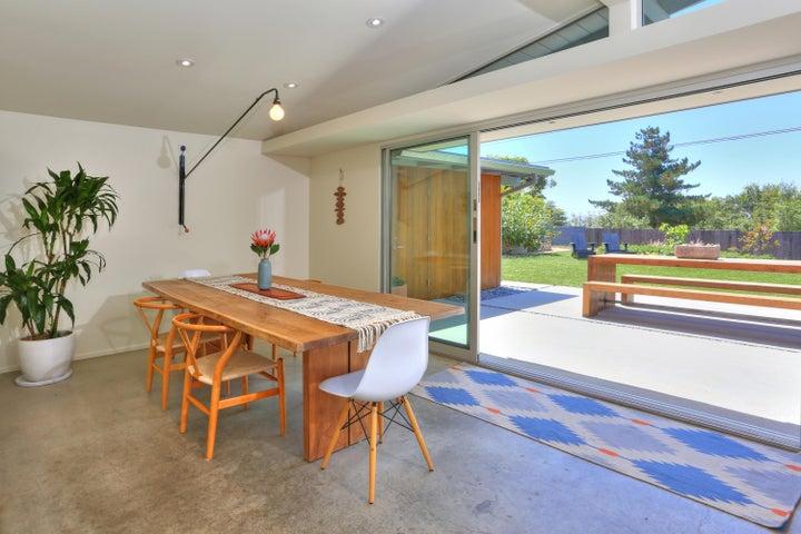 Seamless indoor/outdoor lifestyle