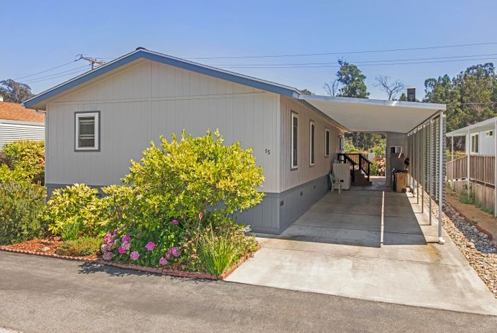 Large Carport With Storage Shed