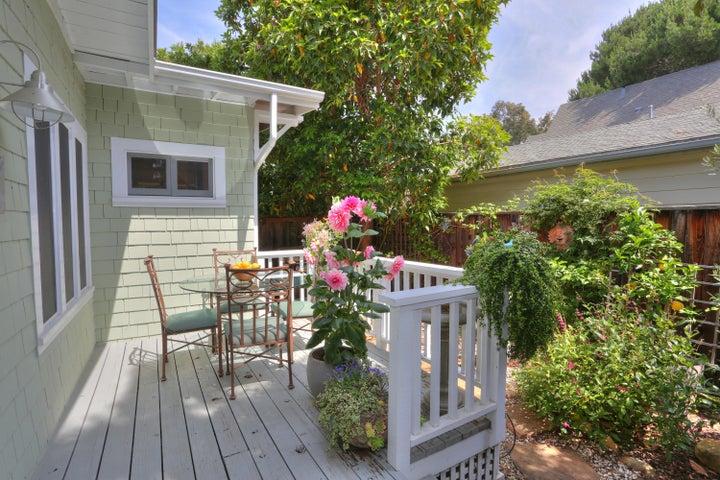Side Garden Deck