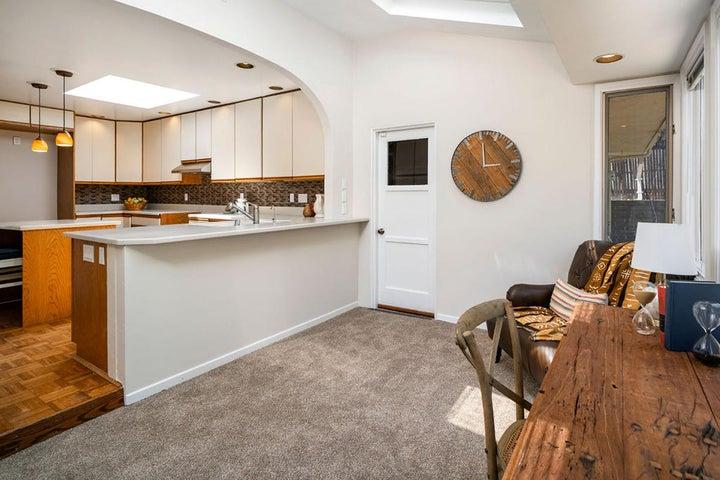 Kitchen and Sun Room