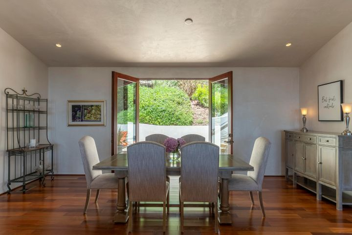 Dining Room opens to rear patio