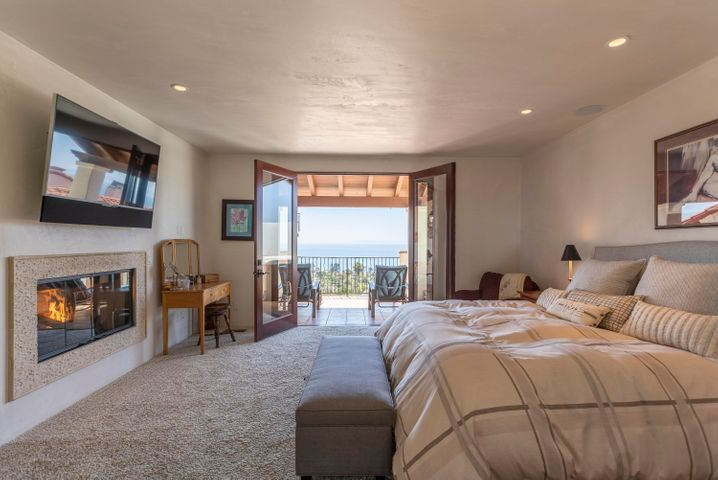 Master Bedroom opens to view deck