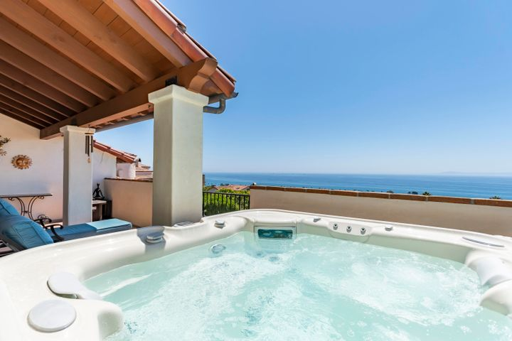 Spa with ocean views