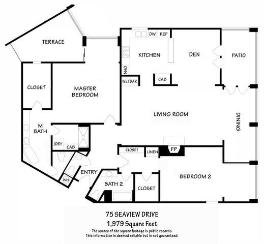 75 Seaview floorplan