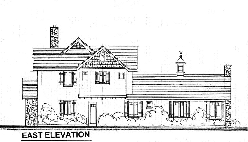 100 SY lot east elevation