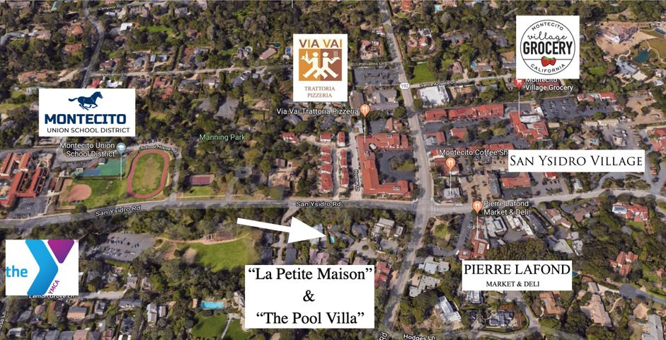 1511 East Valley Road Aerial