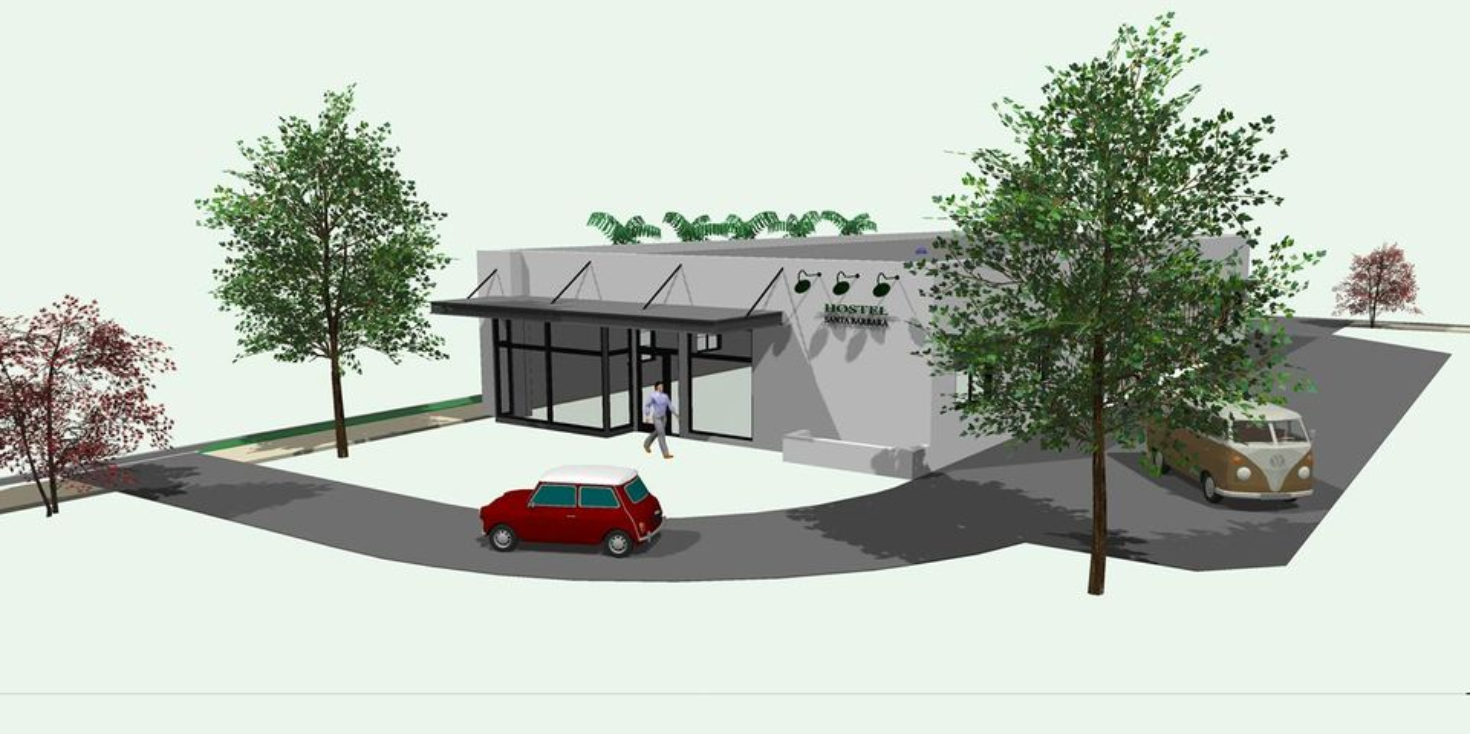 Hostel rendering 2