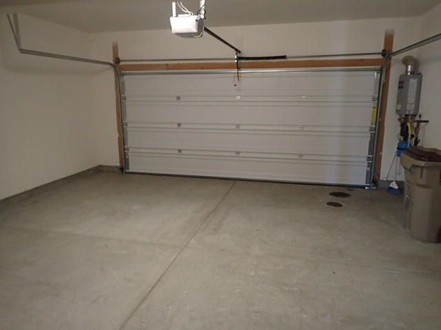 Inside 2 Car Garage