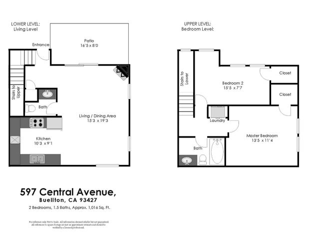 Floor plan Central Ave