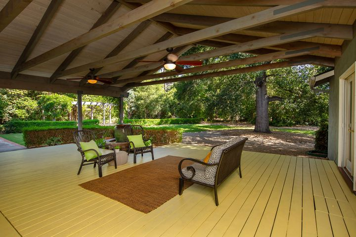 Outdoor Deck Covered Patio