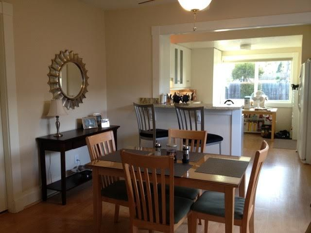 Dining room:kitchen